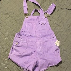 BDG Purple Overalls